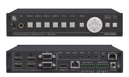 Kramer VP-440 Presentatie Switcher/Scaler